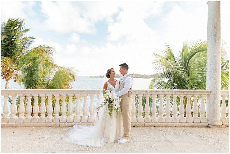Villa Serenita St Thomas St Thomas Wedding Virgin Islands Wedding Destination Wedding Locations