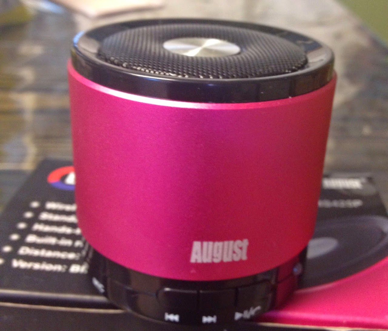 Enter to win an august blue tooth speaker 3 winners