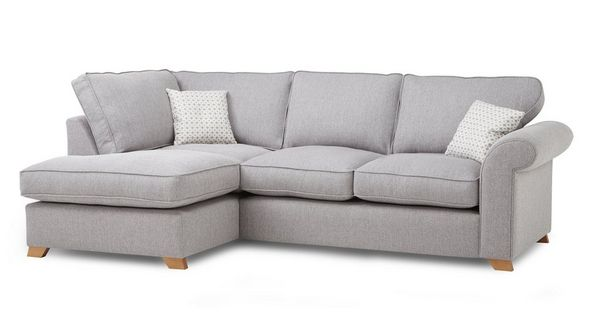 Angelic Right Arm Facing Corner Deluxe Sofa Bed House