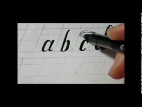 ▷ how to draw fancy letters swirly lower case letters youtube