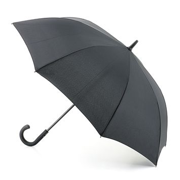 A classic black umbrella for a soggy Vancouver day.