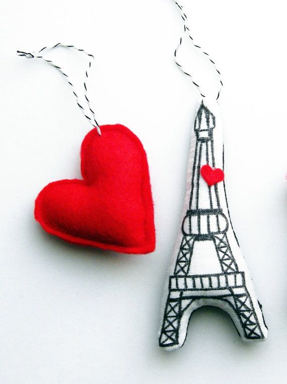 Eiffel Tower Ornament by thatgirl99 on Etsy, $800 fall