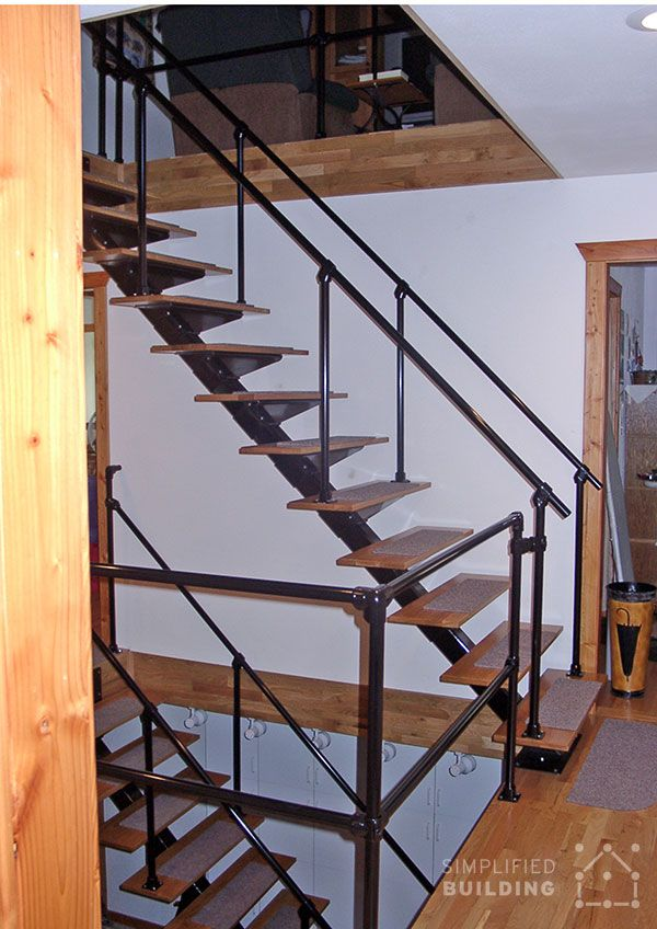Best Industrial Styled Railing For Loft Living Http Www 640 x 480