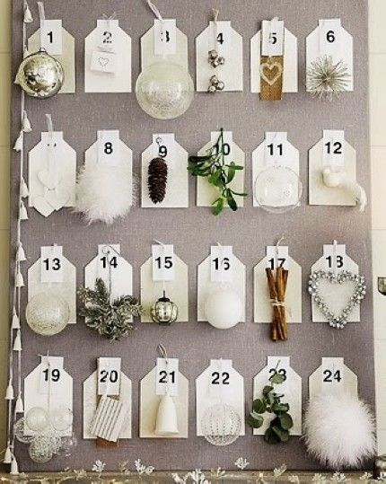 Creative Christmas Silver Decor Ideas, 2013 Silver Christmas Advent #2013  #christmas #silver Design