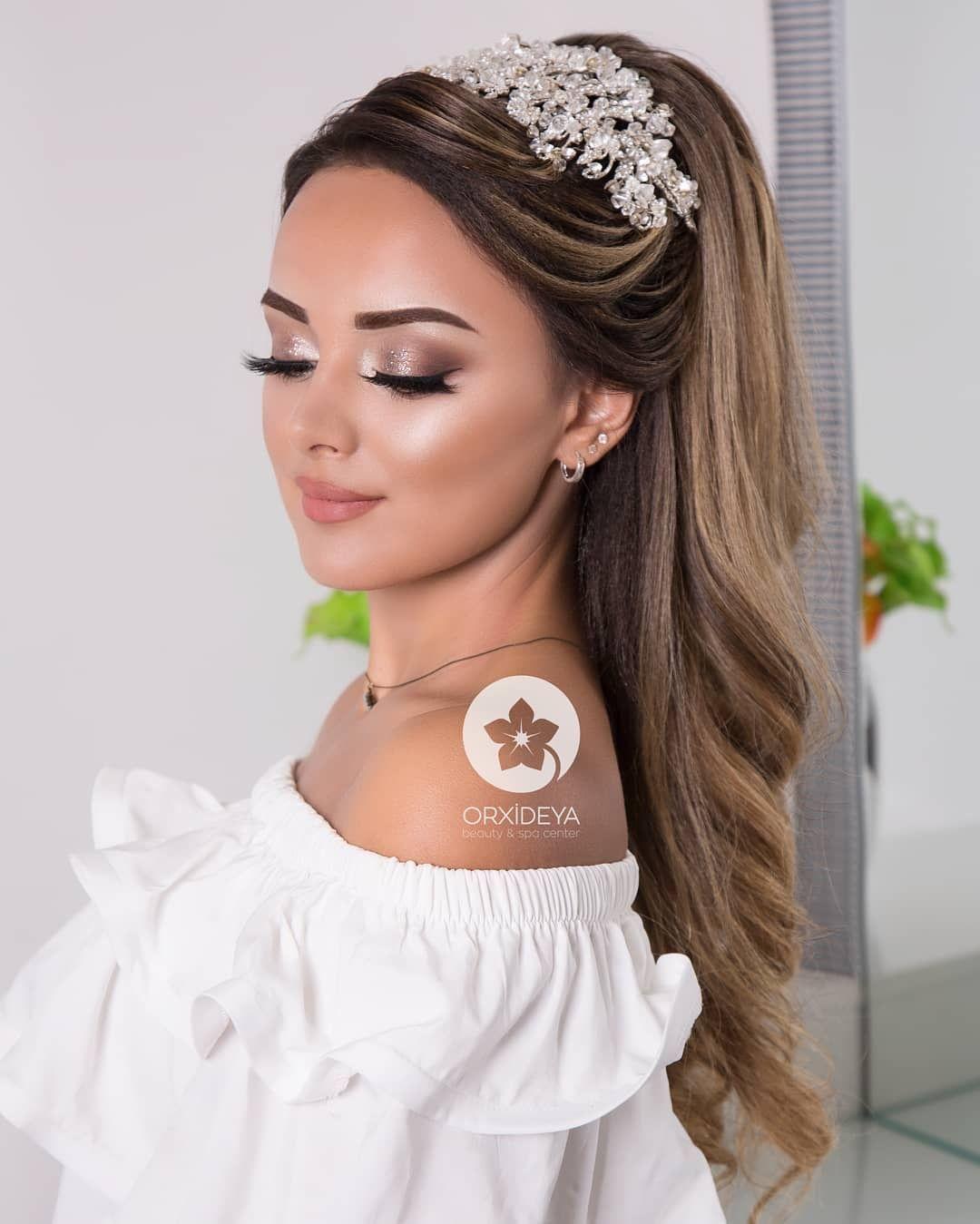 Sensacional peinados para bodas pelo suelto Imagen de ideas de color de pelo - Hair styles - - Hair styles en 2020 (con imágenes ...