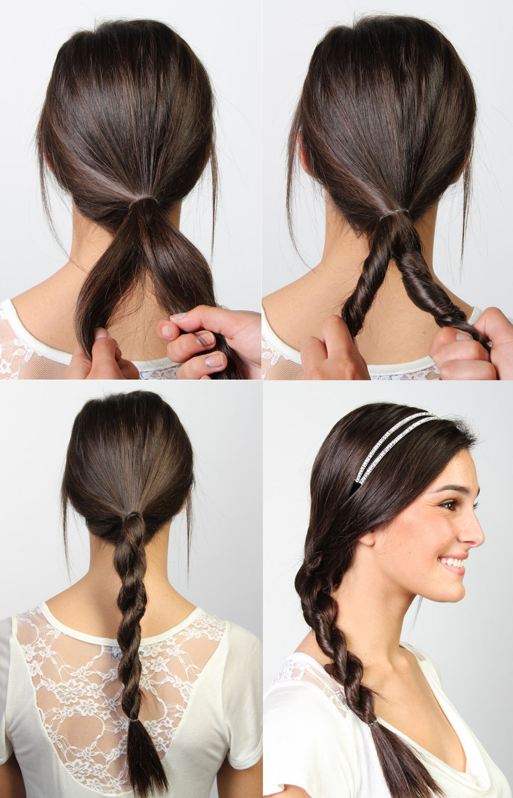 Tresse Torsade Tutoriel Coiffures Pinterest Google And Search