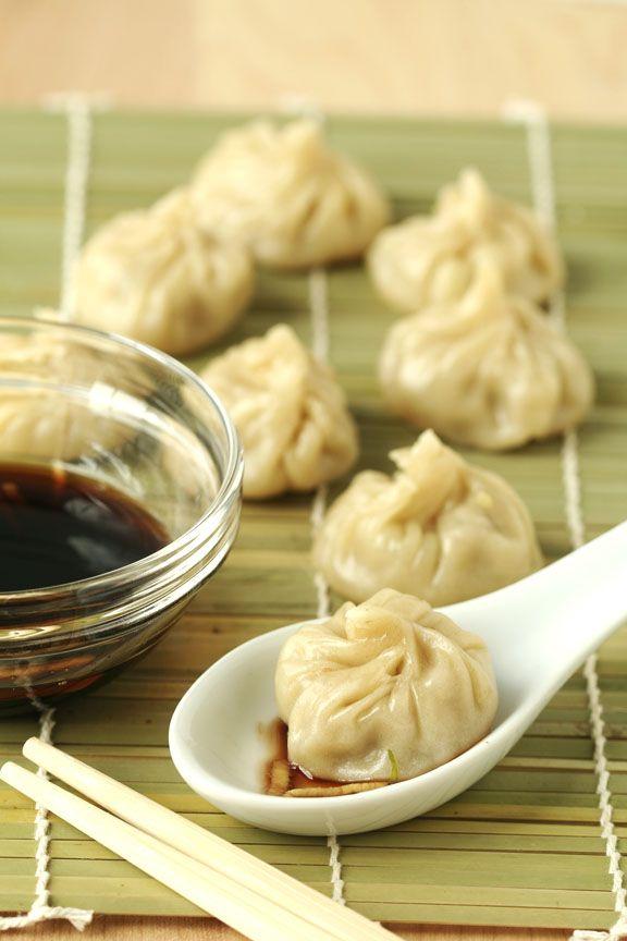 Xiao long bao (Shanghai soup dumplings)