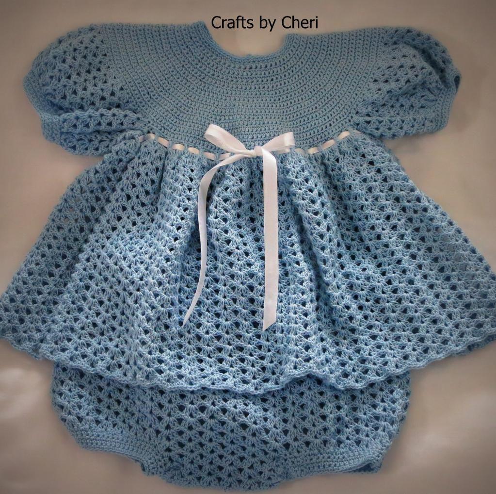 Resultado de imagen para pinterest crochet baby | Vestiditos ...