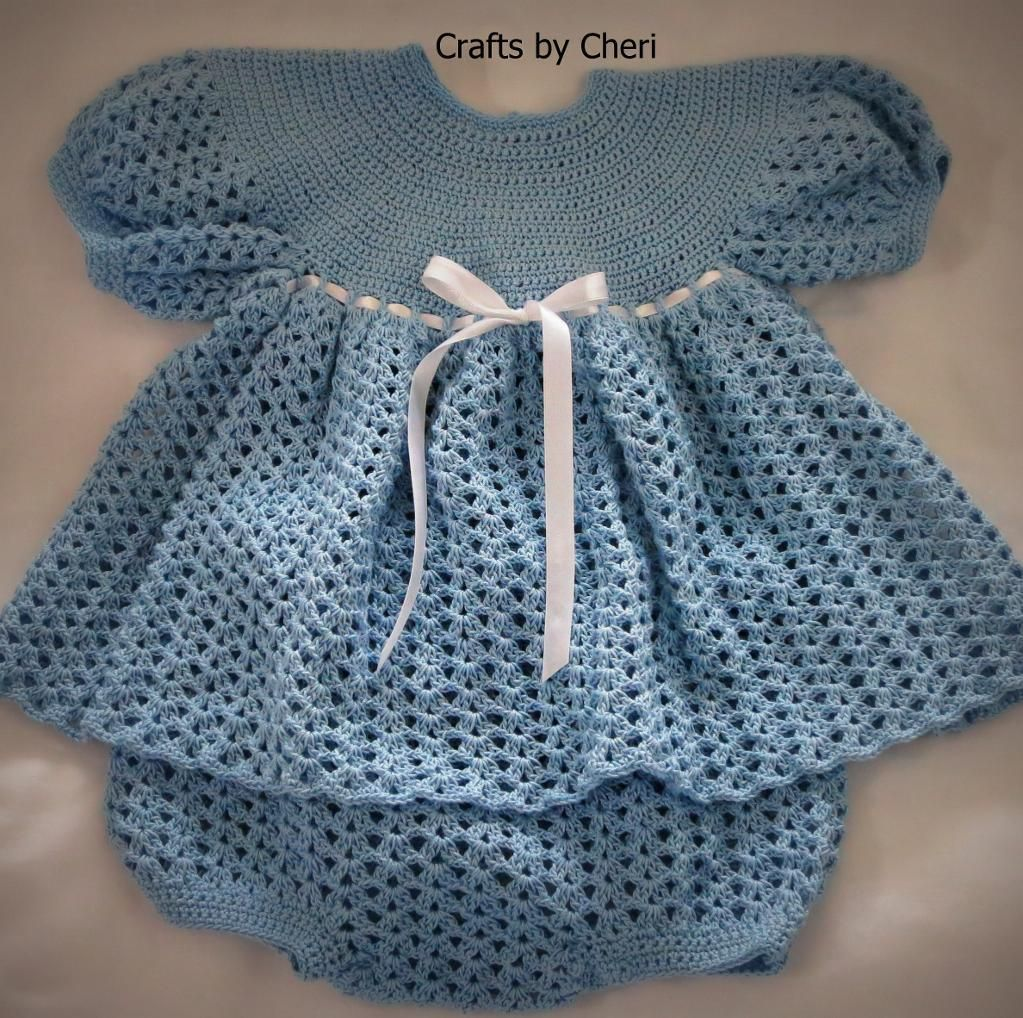 Free Baby Crochet Diaper Cover | Cheri\'s Crochet Baby Dress, Diaper ...