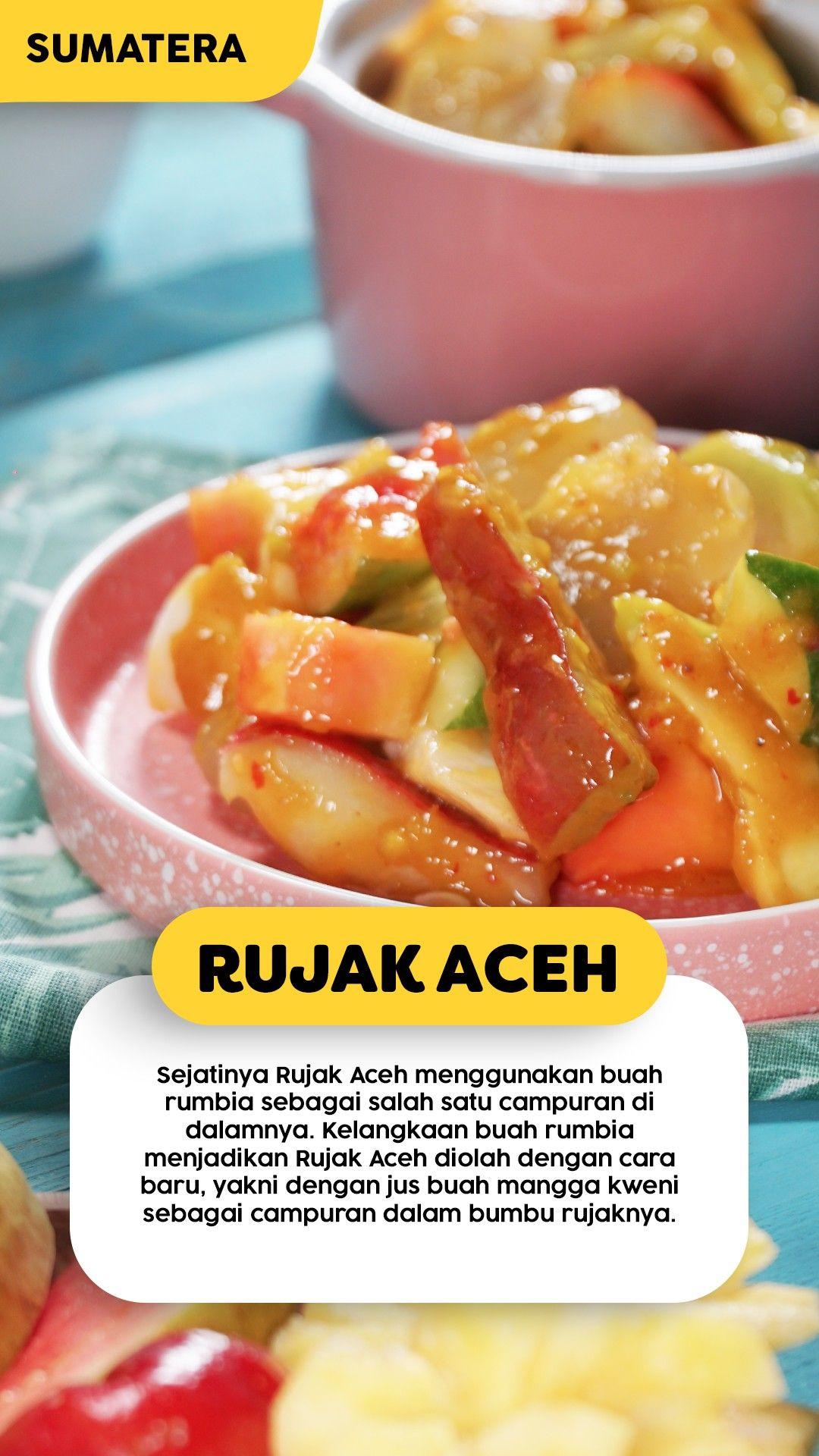 Resep Rujak Aceh Resep Resep Buah Masakan