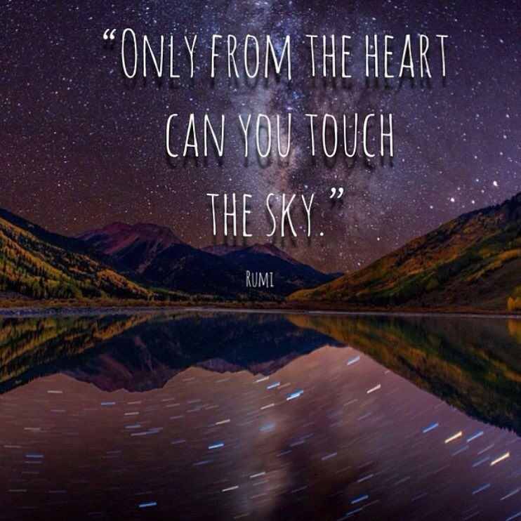 Only from the heart
