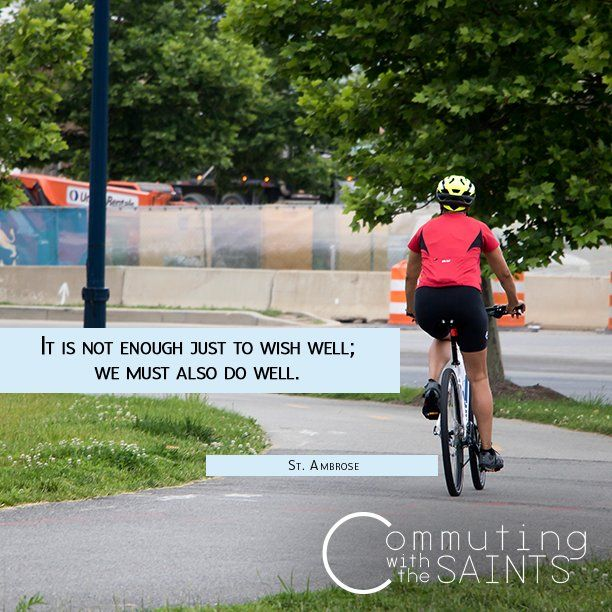 How can you 'do well' today? #CommutingwiththeSaints