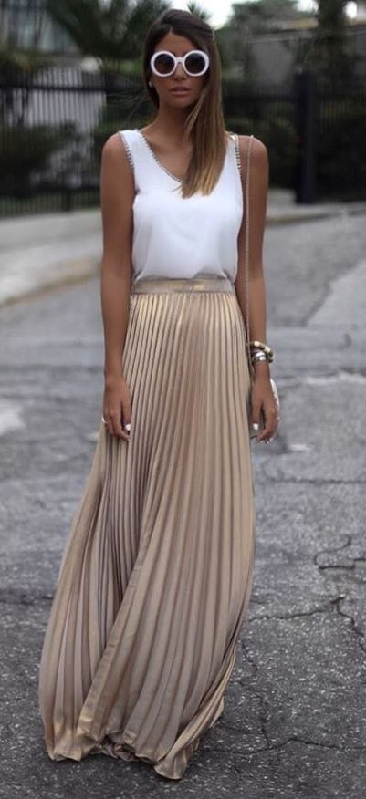 Summer Outfit Top Maxi Skirt Casual Wedding Outfit Wedding Guest Dress Summer Summer Wedding Outfits