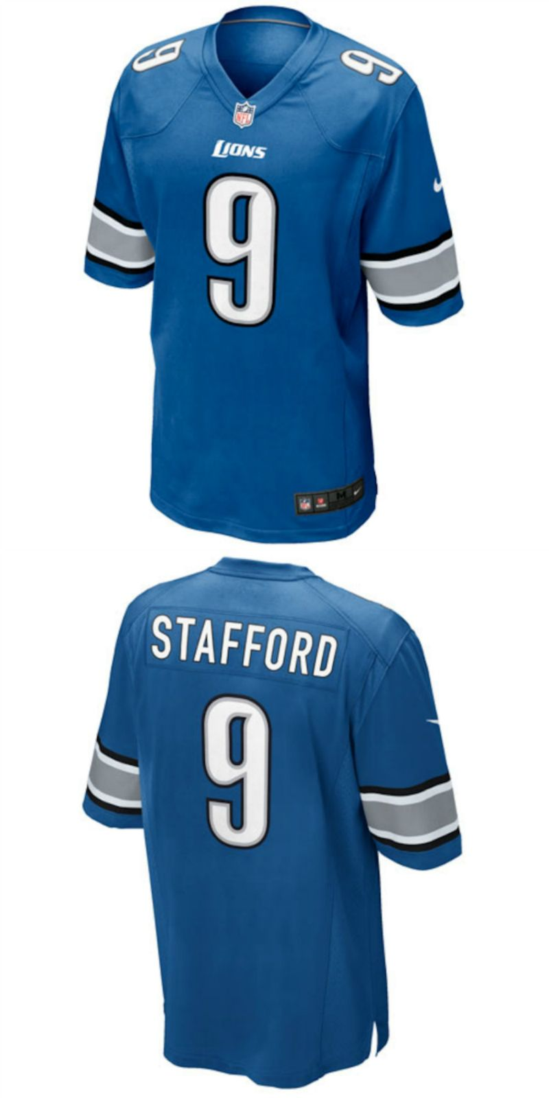 Up To 70 Off Matthew Stafford Detroit Lions Nike Game Jersey Light Blue Detroit Lion Logo Birthday Party Gift Nfl Outfits Detroit Lions Chicago Bears Jersey