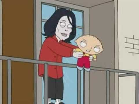 Michael Jackson And Stewie On Balcony Stewie Griffin Family Guy