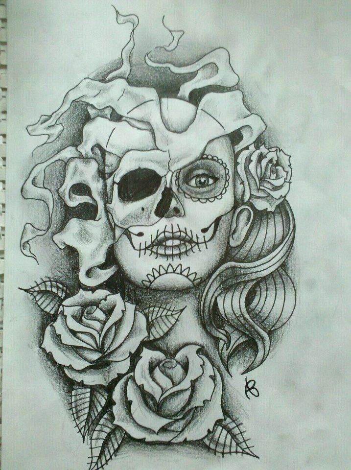This Is An Upper Leg Tattoo I Designed For Jayne O Keefe Jayne