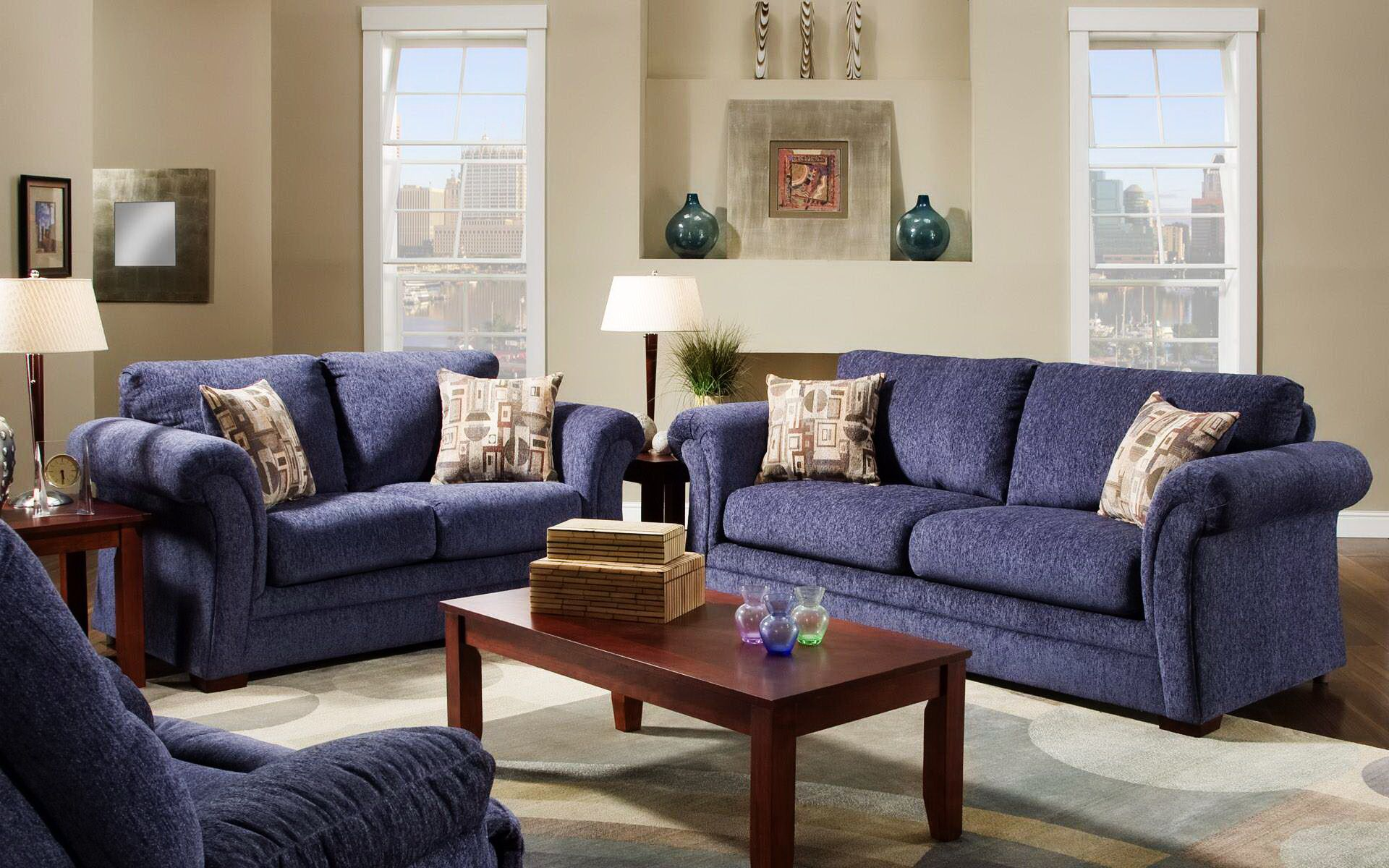 Dark Blue Couch Sofa In Cream Living Room Ideas   Dark Blue Couch Sofa In Cream  Living Room Ideas Part 26