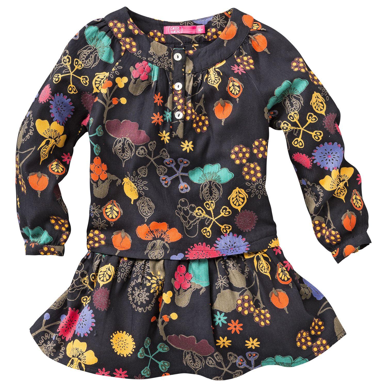 ein fantastisches Kleidchen aus Baumwoll-Jersey, das jedes Blumenmädchen mit Cakewalk-Raffinesse verzaubert... www.frohtag.de
