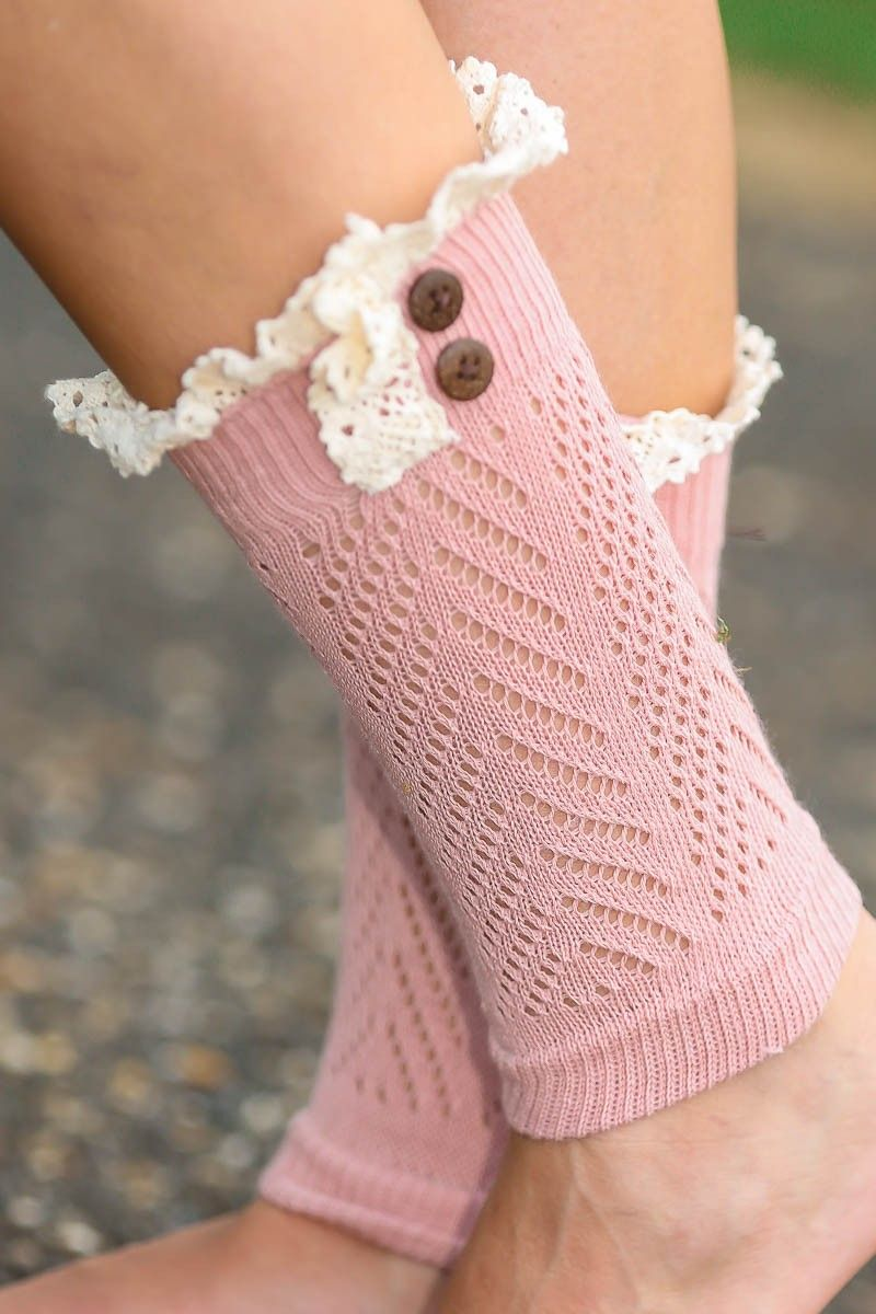 Finishing Touch Boot Cuff-Blush... I WANNT