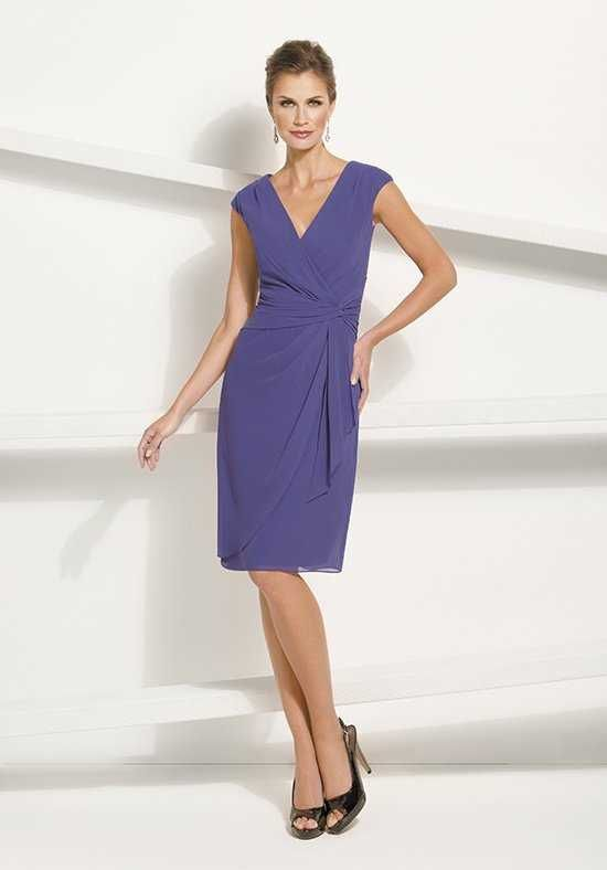 Jasmine Black Label M170008 Purple Mother Of The Bride Dress