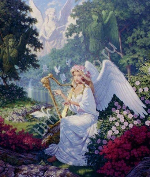Волшебная музыка, картина раскраска по номерам, на ...