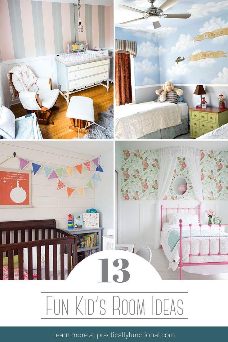 13 Fun Kid S Room Ideas