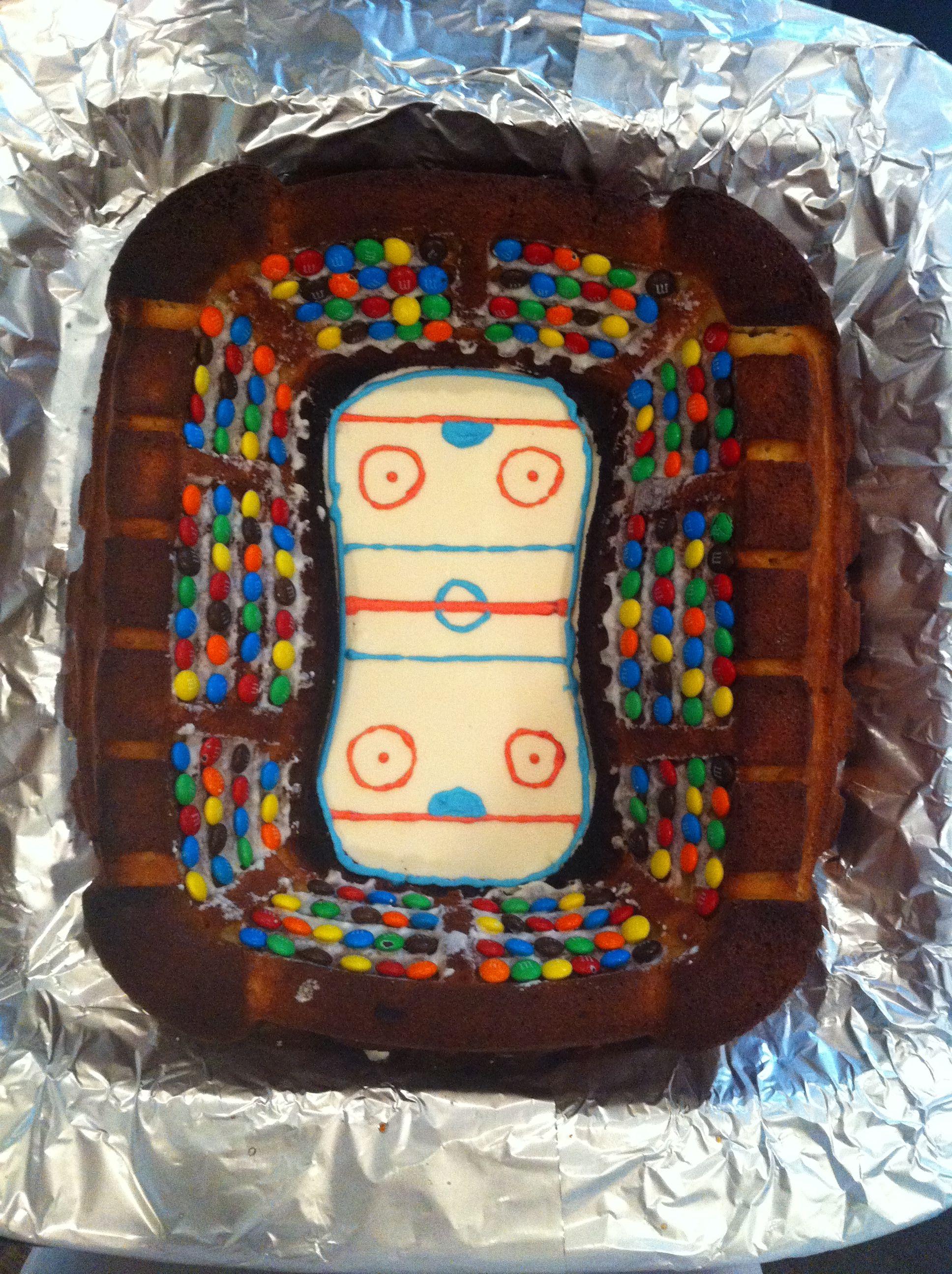 Birthday Cake Hockey Rink