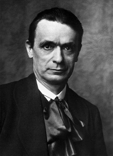 Rudolf Steiner portret