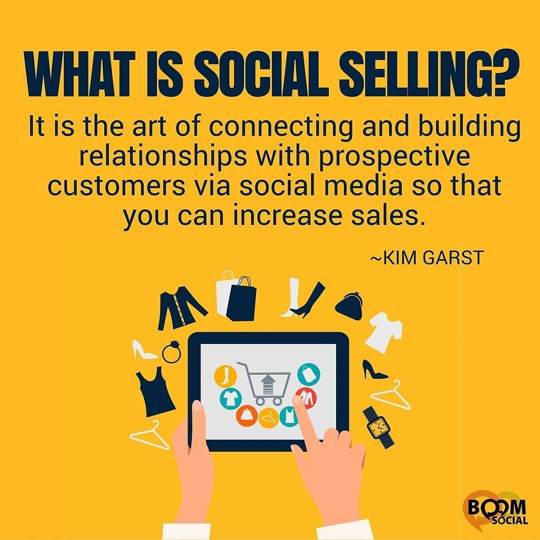 Kim Garst Social Media On Instagram What Is Social Selling It Is The Art Of Connecting And Building Relati Social Selling What Is Social Social Media
