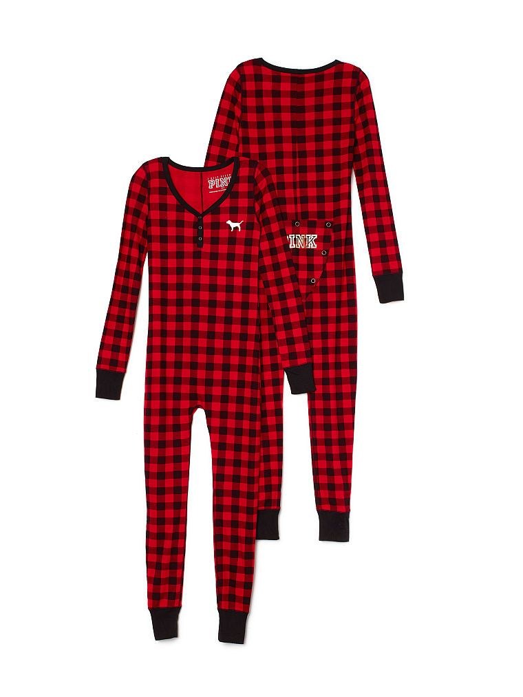 6dd020734c19 Red Plaid Thermal Onesie - I NEED ALL OF THE LONG JOHNS ...