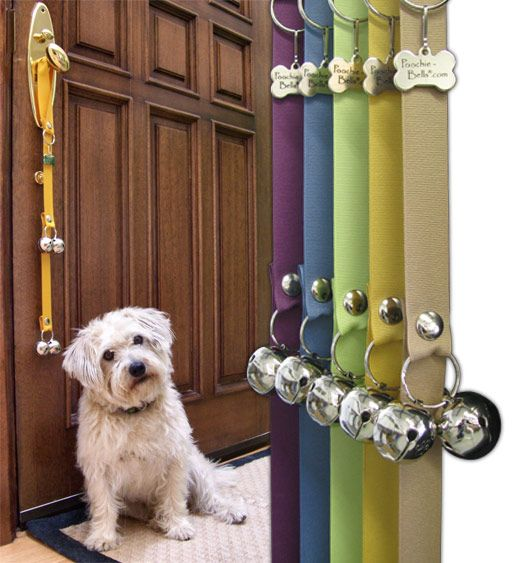 poochie bells are great for potty training! (With images