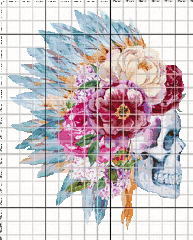 Buy 1 Get 1 Free Coupon Bogo18 Sugar Skull Watercolor Cross