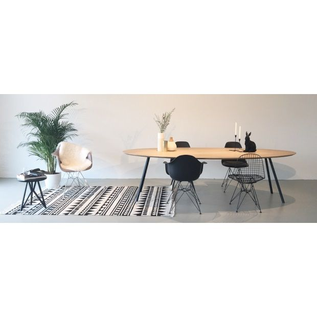 Studio H&K Slim Co Eettafel Ovaal - 120 x 200 cm - afbeelding 2
