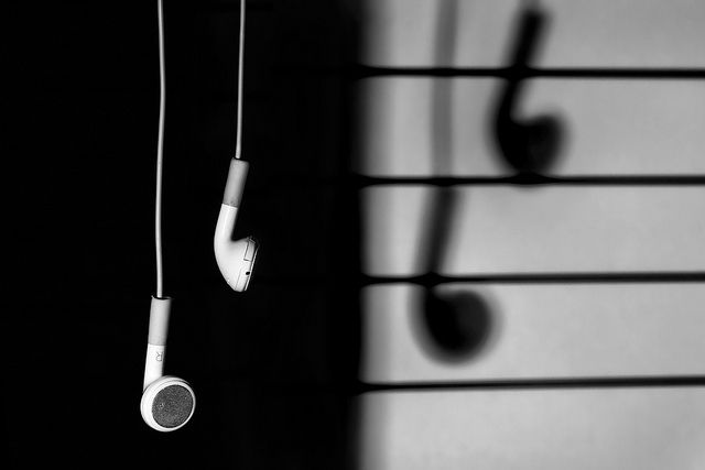 Black And White Music Notes Photography