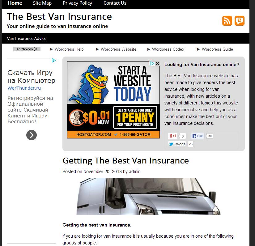 Http Www Thebestvaninsurance Co Uk Commercial Van Insurance