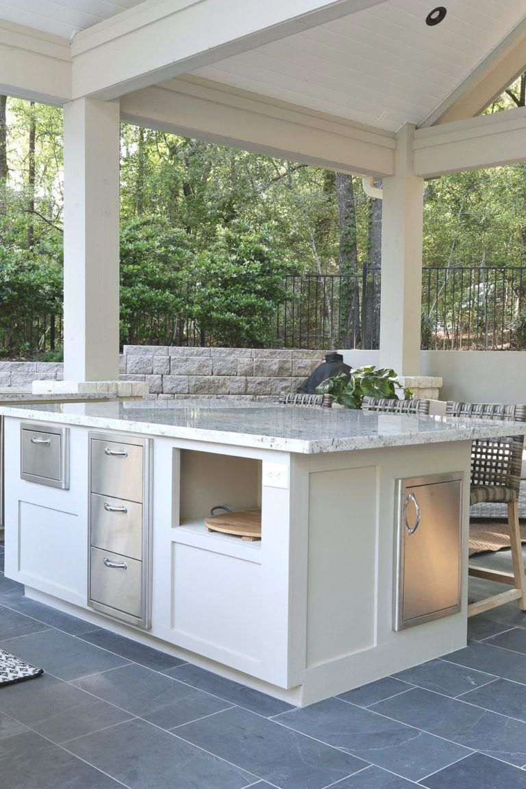 the essential point here is that there ought to appertain space for an adirondack chair on outdoor kitchen essentials id=19476