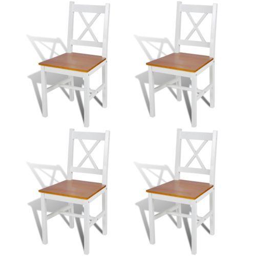 Esszimmerstuhl Modern 4x esszimmerstuhl küchenstuhl holzstuhl esszimmer stuhl massivholz