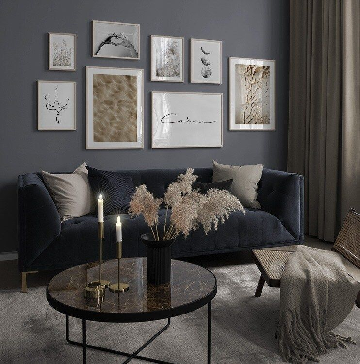 Blue Living Room Ideas Uk