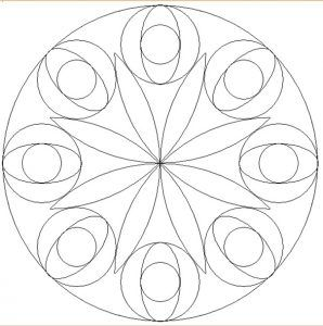 Free Printable Mandala Coloring Pages for Firstgrader Mandala