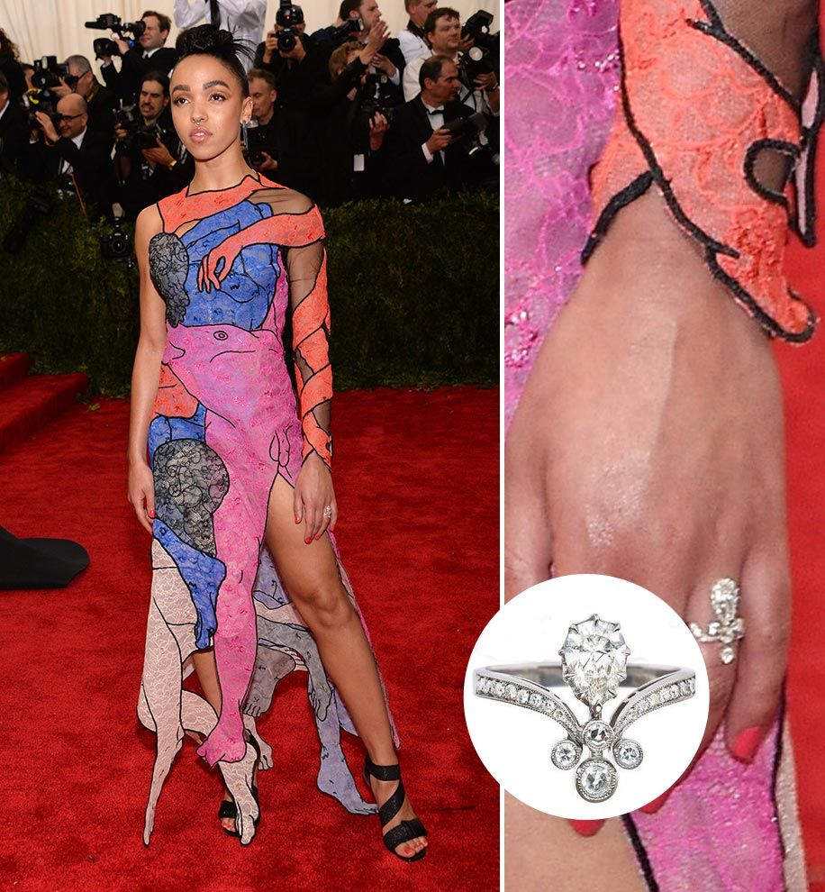FKA Twigs | Platinum engagement rings, Ring and Celebrity