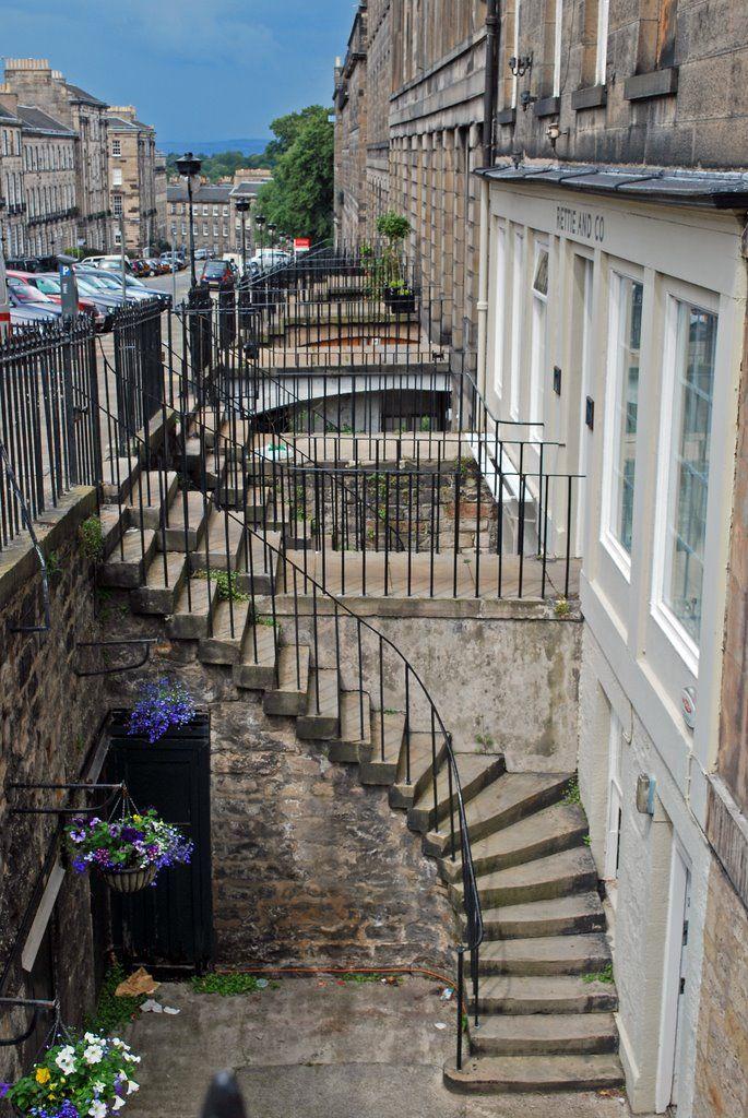 India Street Edinburgh, New Town, Scotland Scotland