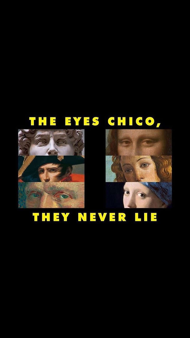 The eyes, Chico. They never lie. - HoopoeQuotes