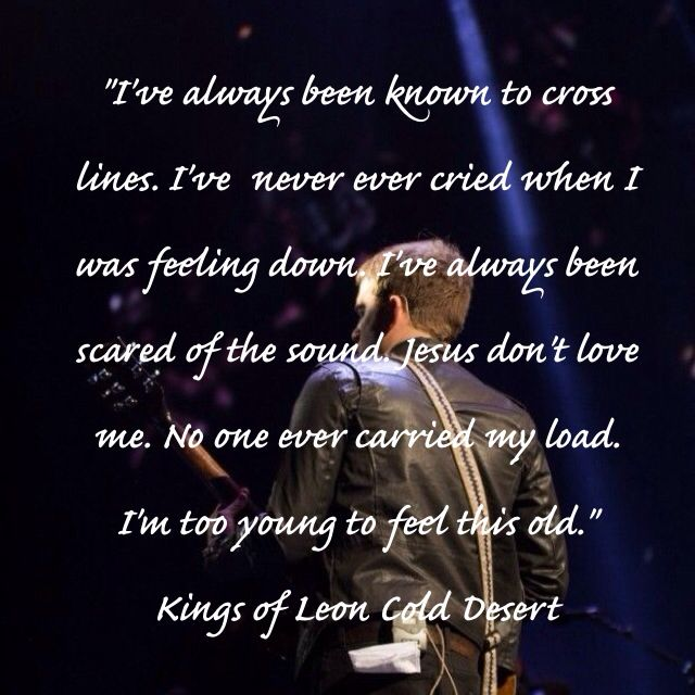 my favorite kings of leon song it s also in my top 5 favorite songs