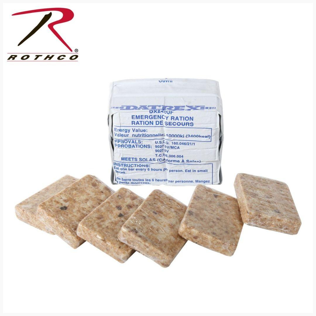 Datrex 2400 Calorie Emergency Food Ration Item 9208