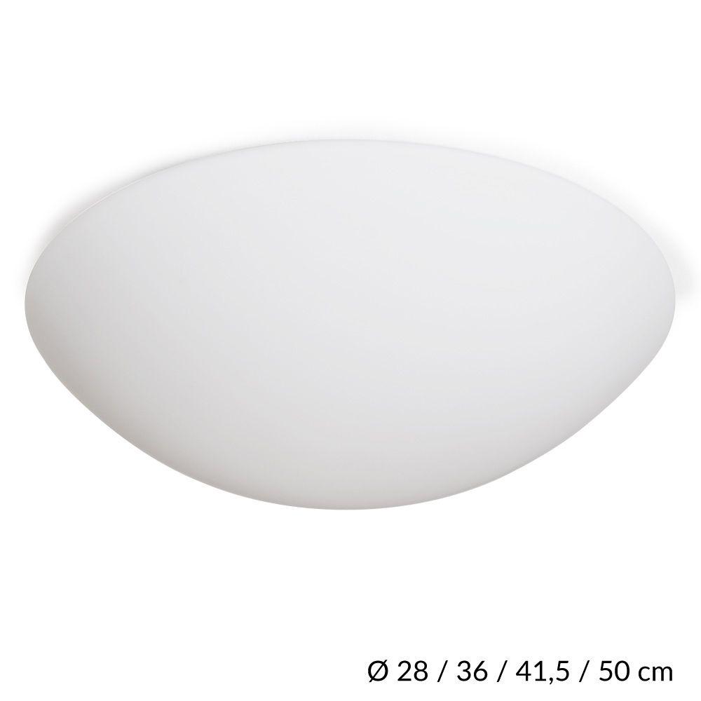 Schlichte Halbrunde Deckenleuchte Mit Schonem Seidenmatten Opalglas Aus Tschechischer Glasmanufaktur Die Leuch In 2020 Aussenleuchten Wand Deckenlampe Design Leuchten