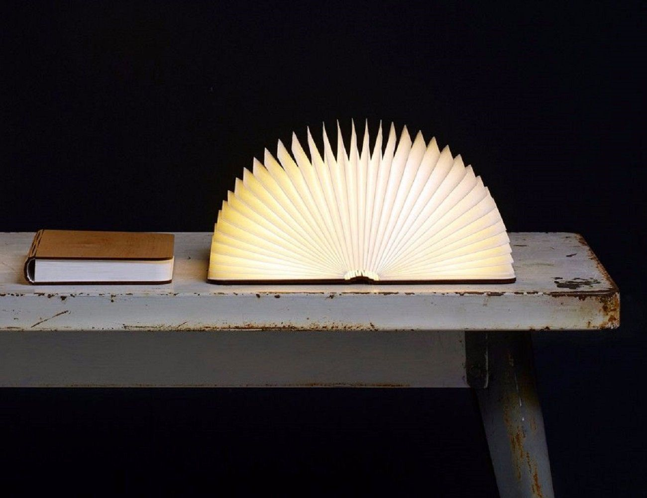 Lumio Book Lamp With Images Book Lamp Wooden Lamps Design Lumio
