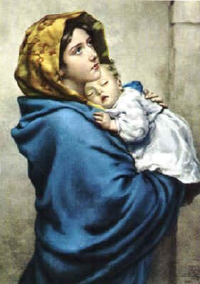 Mary the mother of Jesus. When God gave her His promise that Mary ...