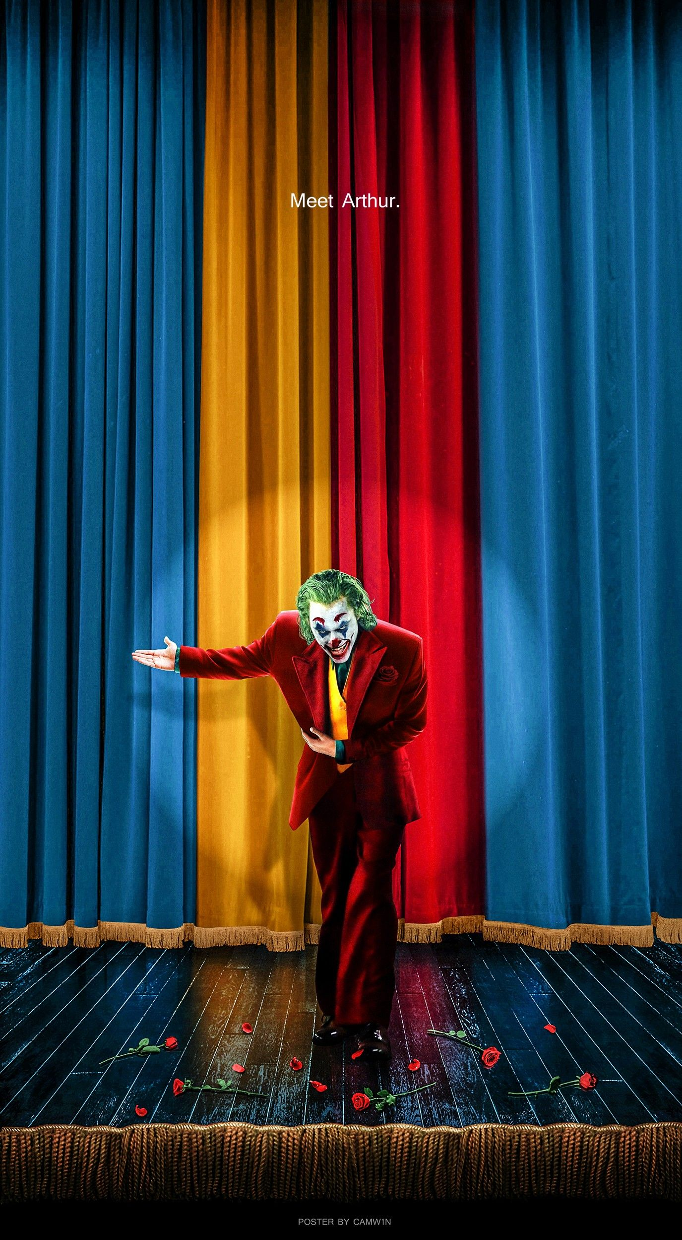 Joker 2019 Fan Poster By Camw1n Joker Iphone Wallpaper