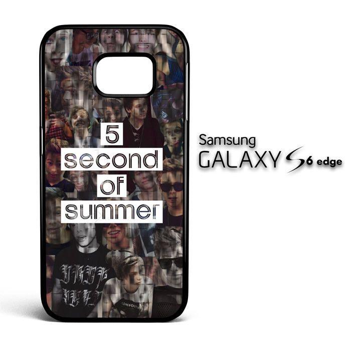 5 second of summer collage C0014 Samsung Galaxy S6 Edge Case