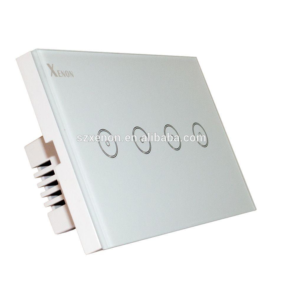 Xenon WiFi wall switch Wifi light switch socket touch screen ...